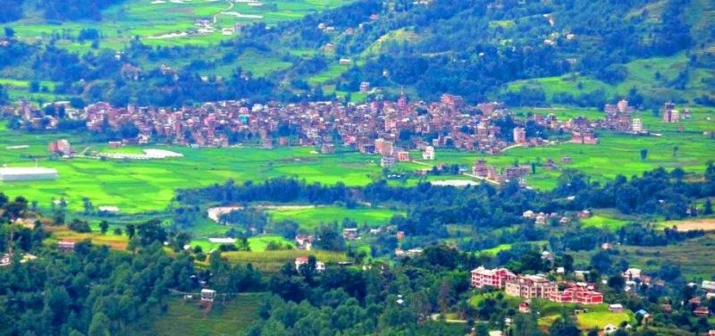 sankhu-village